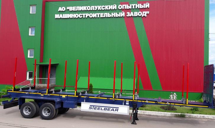 Полуприцепы - сортиментовозы TR-36R STEELBEAR востребованы в Сибири!